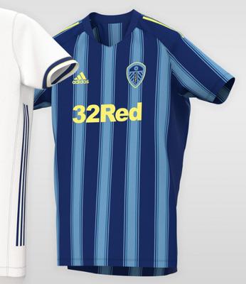 maglia da calcio Leeds United away 2020–2021 | maglie calcio e ...